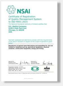 ISO Cert Cover